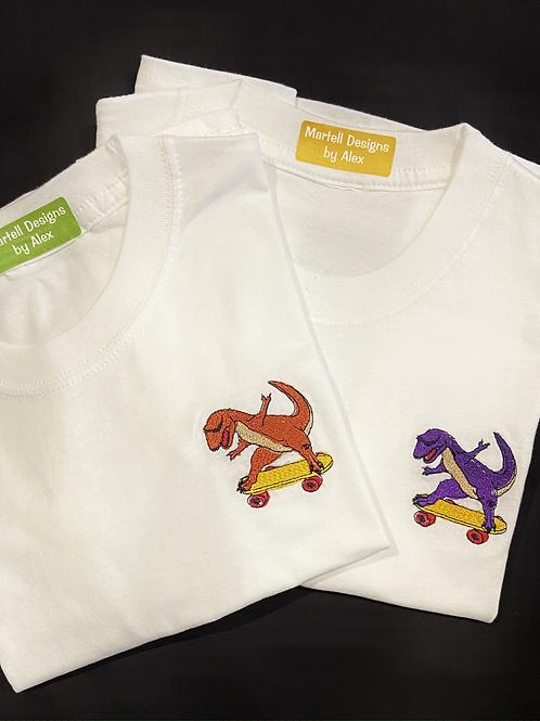 Skateboard Dino T-Shirt
