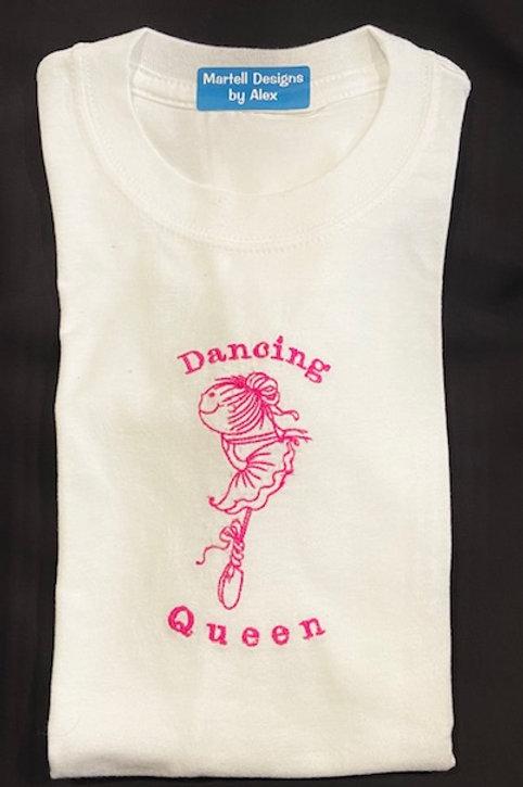 Dancing  Queen ballerina short sleeve t-shirt