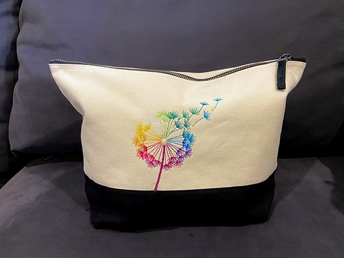 Dandelion Make-Up/Wash Bag (Medium)