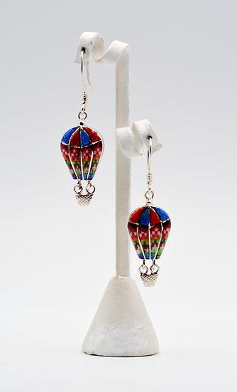 Ballon Style Multicolor Earrings