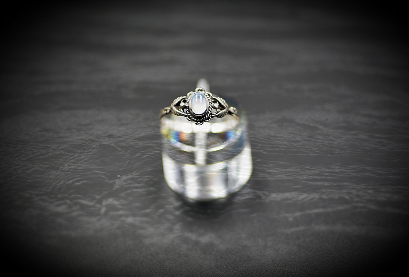Sterling Silver Mother Pearl Ring