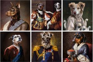 pompous pets digital art