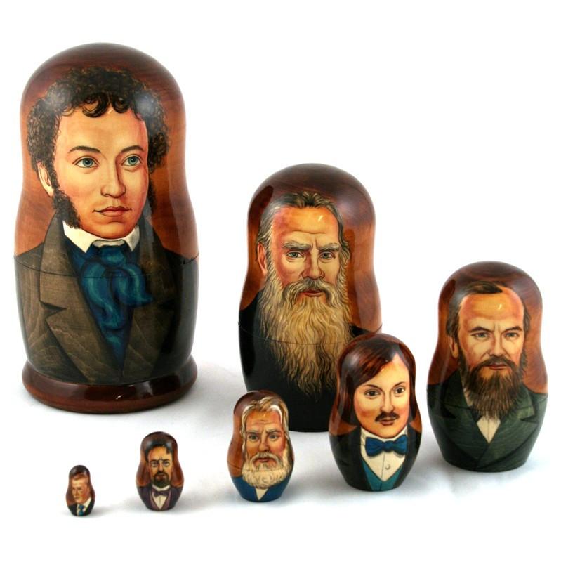 סופרים רוסים מפורסמים
