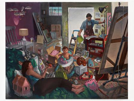 לארי מדריגל - מצייר את הצייר מצייר