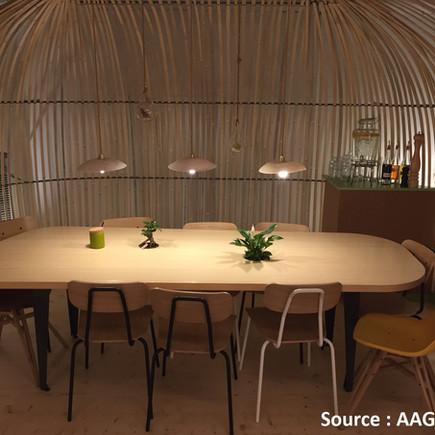 AAG aménagement restaurant