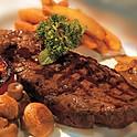 "NY Strip Steak ""Carne Style"" w. Chimichurri Sauce"