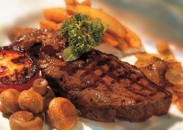 Gegrilltes Steak
