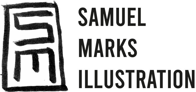 Samuel Marks Illustration Logo