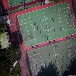 City Patterns #12_Footballers