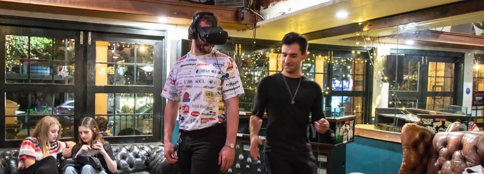 Andrew Christie VR Work 'Hyperlinks to H