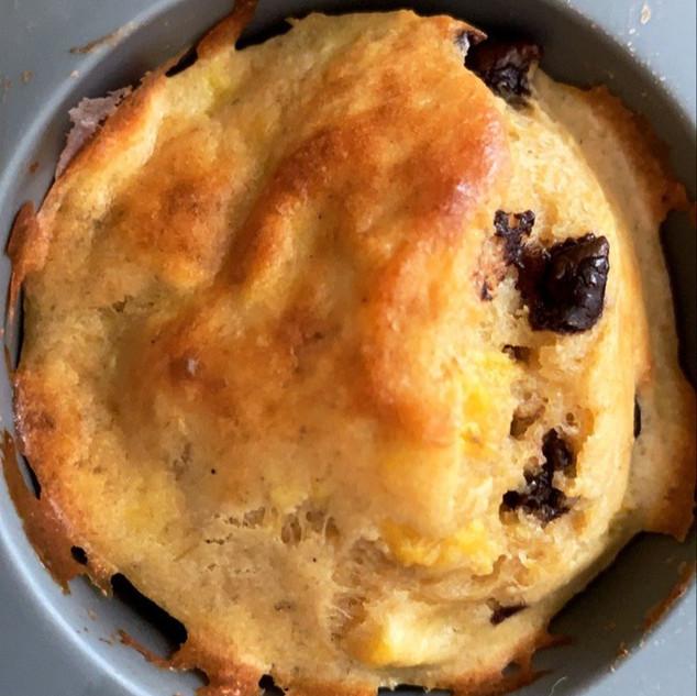 Los muffins antes de salir del molde