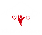 Full Color White & Red on Transparent (Logo & Name).png