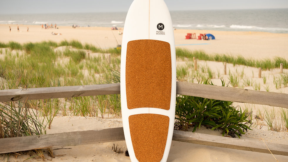 Cork Shortboard Traction Pad Set