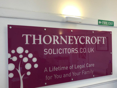 Business News... Thorneycroft Solicitors