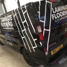 Rob The Floor - Van Sign Writing