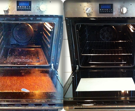 Elite Oven Clean Before & After