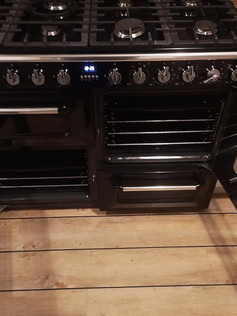 Large Oven Cleaned by Elite Oven Clean