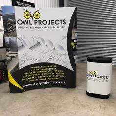 Owl Projects - Pop Up Exhibition Display