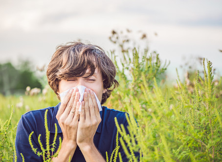 Hay fever – don't let it spoil your run!