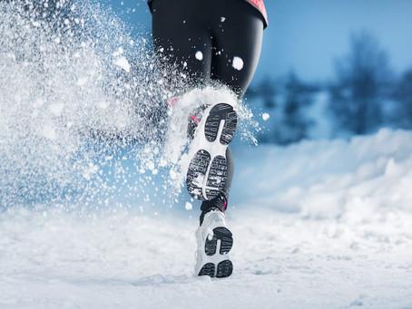 Winter exercise motivation . . .