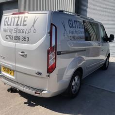 Glitzie Mobile Hair - Van Sign Writing