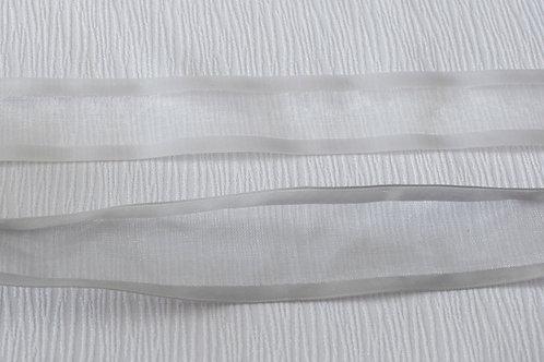 Ruban satin/sheer 1.5'' (38mm)  (choix de 2 couleurs)
