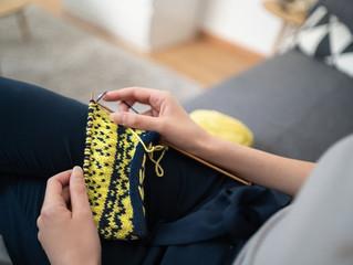 Prendre soin de soi tout en tricotant