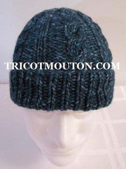 Kit de laine - Tuque pour homme #THK-01