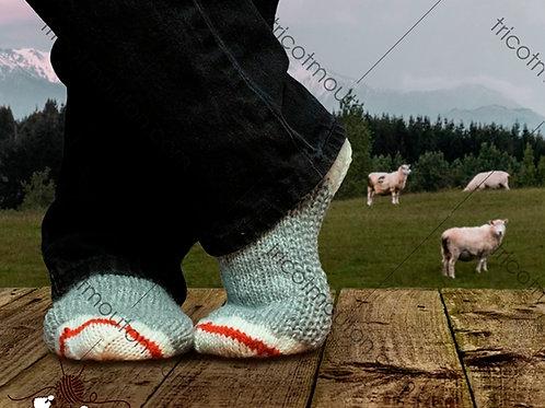 Kit de laine / Knitting Kit #BFK-06