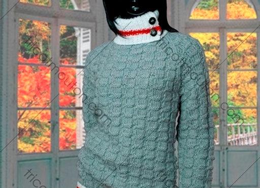 Kit de laine / Knitting Kit #VFK-07