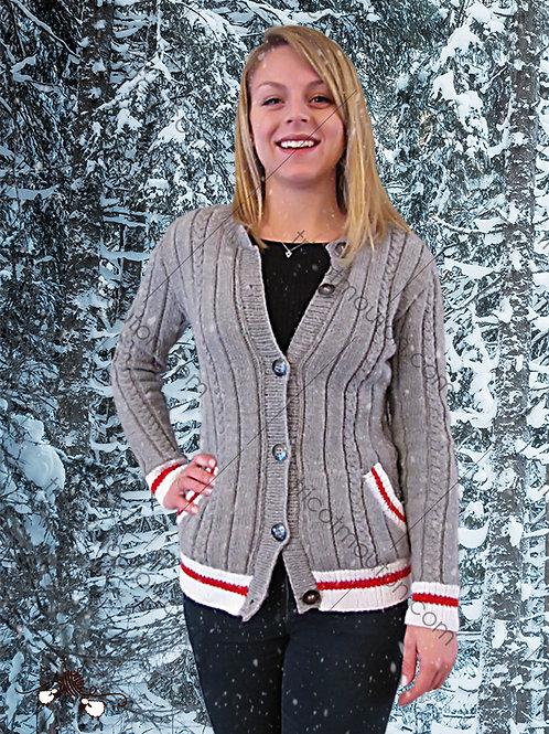 Kit de laine - Veste pour femme ''Collection du Pays'' #VFK-02