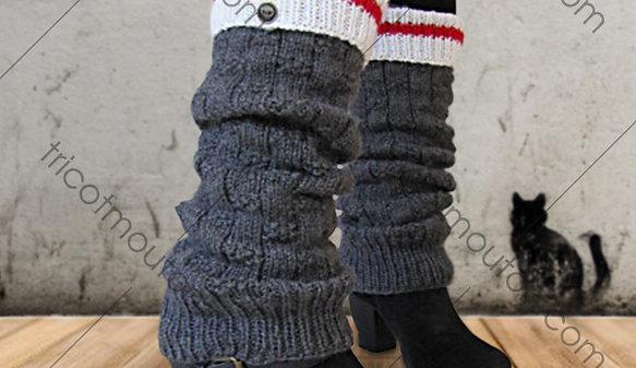 Kit de laine - Bas de réchauffement junior ''Collection du Pays'' WAJK-01