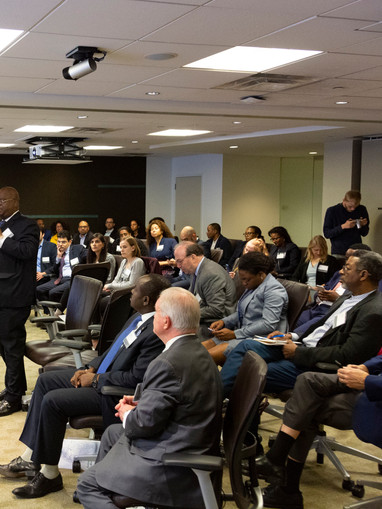 Hosting a conversation with U.S-Africa investors and policy makers