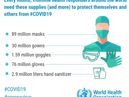 Coronavirus: OCI's support on PPE sourcing