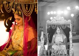 indian wedding bride palanquin