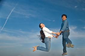 prewedding-india-blue-sky