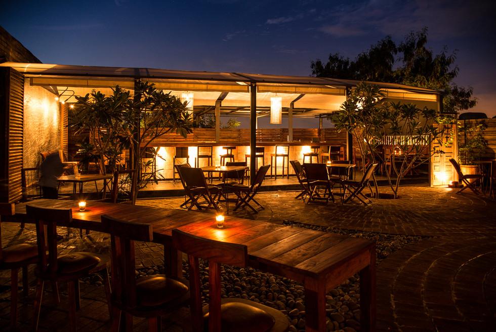 restaurant outdoors hyderabad