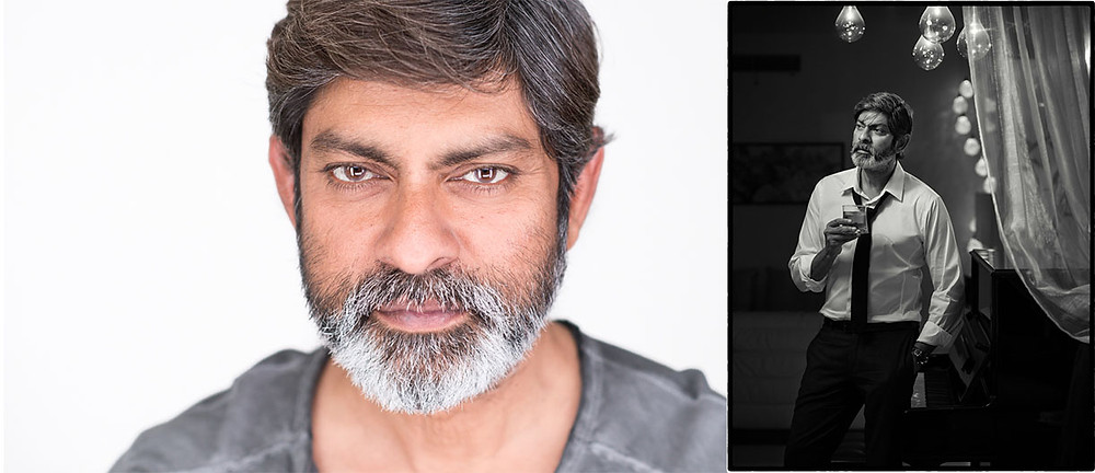 portrait of a  Indian movie celebrity