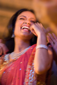 bride dancing wedding sangeeth