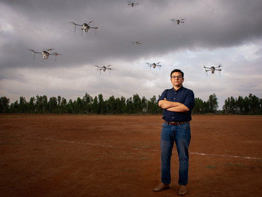 How to shoot drones... and not leave debris behind!