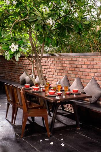 restaurant exterior photography india