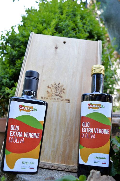 OLIO EXTRAVERGINE DI OLIVA BIO prod. 2019