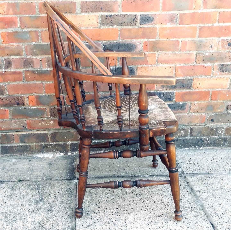 19th Century American Bowback Windsor Ch