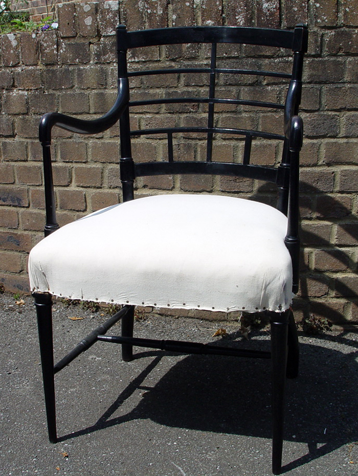 Godwin Ebonised Chair
