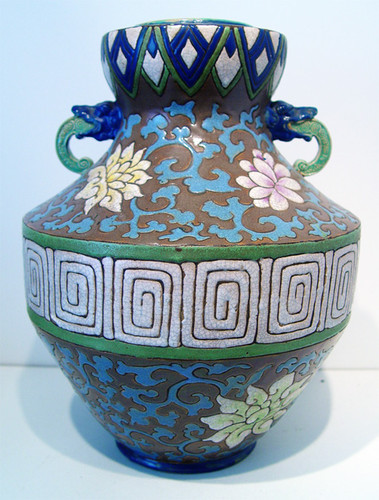 Belgian or French Art Deco Vase