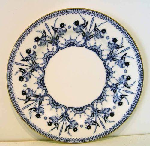 Brownfield Plate Designed by Dresser