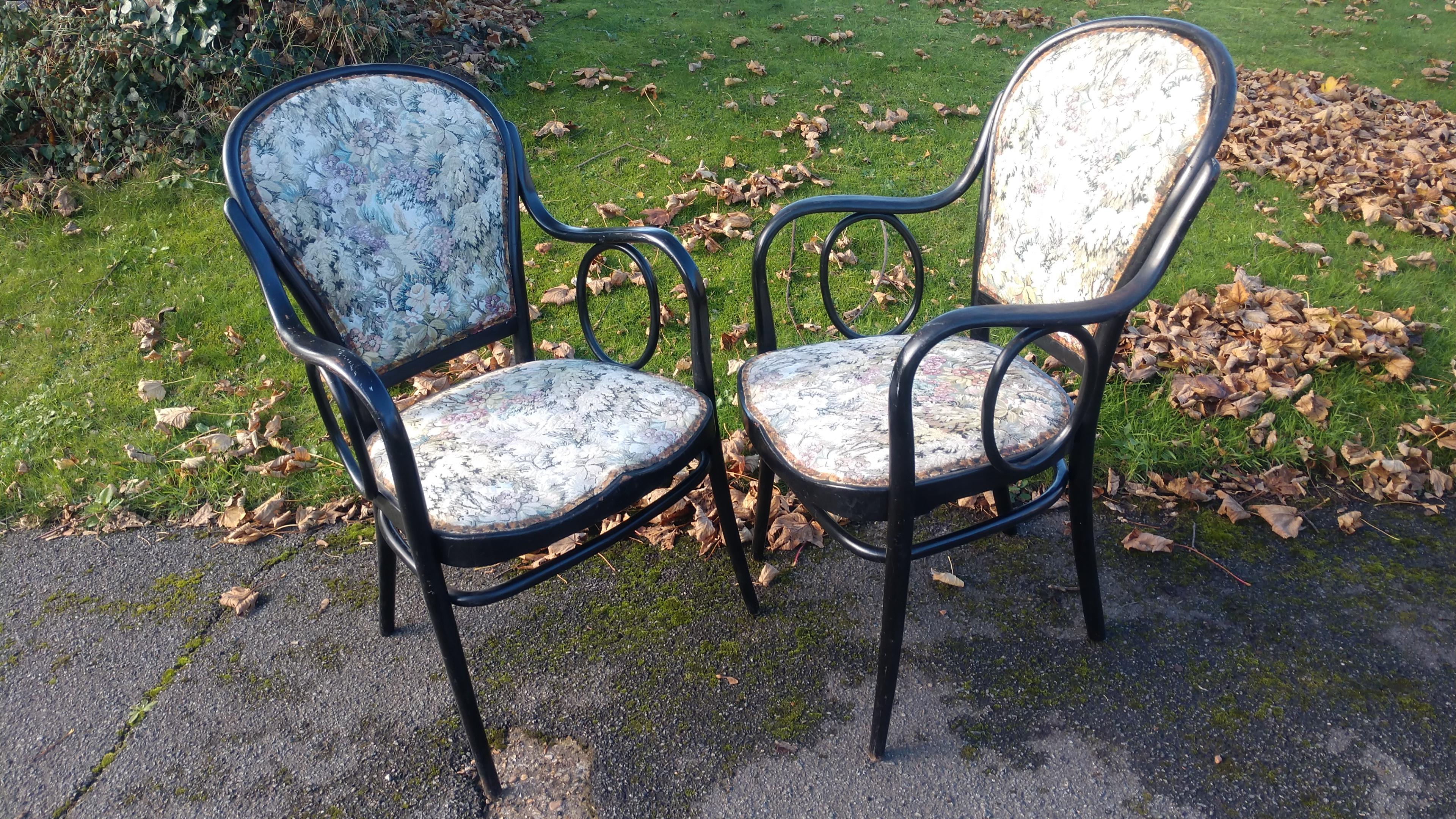 Thonet Smokers Chairs