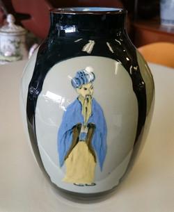 RARE Torquay vase. SYLVIA COOK
