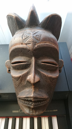 1950s Chokwe Pwo Mask
