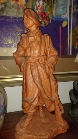 zech Art Deco Ceramic Sculpture
